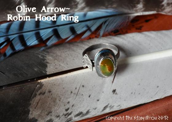 Olive Arrowring