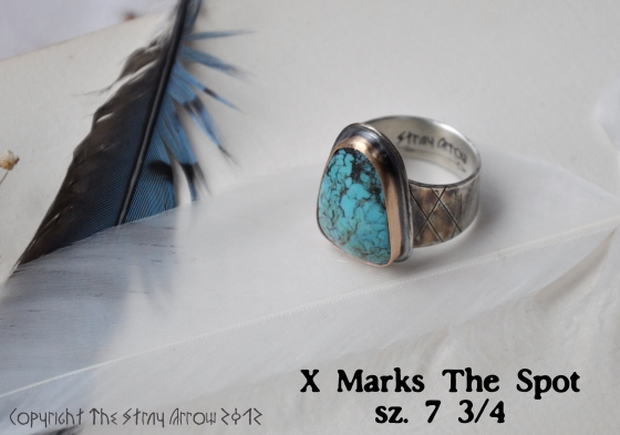 X Marks Spot Ring