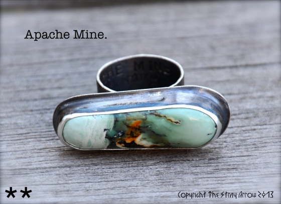 Apache Mine Lisa's ring