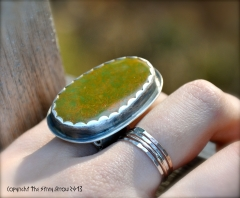 Crow Springs Green Grasses ring