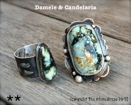 Damele&Candelaria Lin's rings