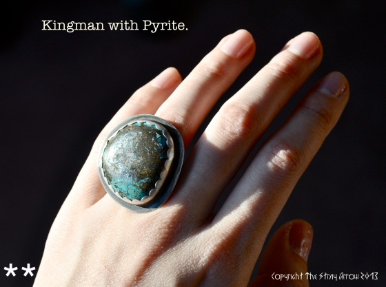 Kingman Murky Skies ring