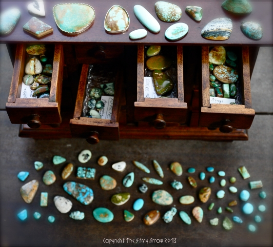 Turquoise Treasure Chest