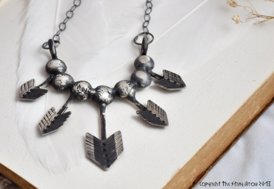 Stray Arrow Necklace...