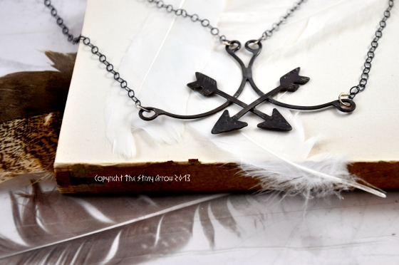 Double Archer Necklace