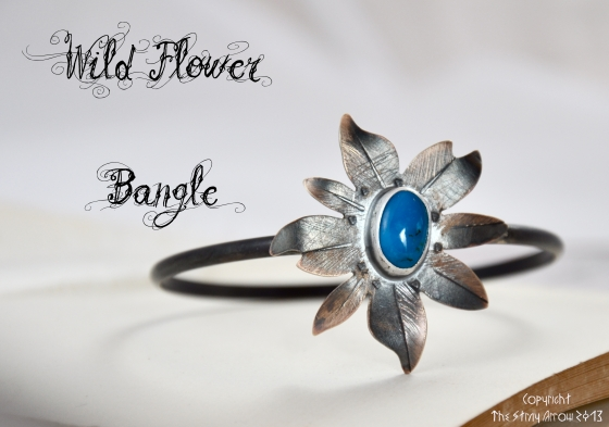 Wild Flower Bangle main pic